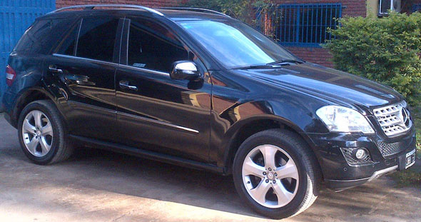 Auto Mercedes Benz ML 350 CDI Sport