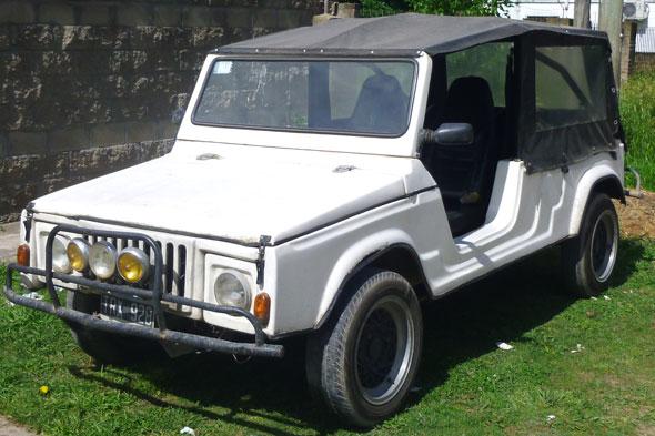 Car Citroen Mehari