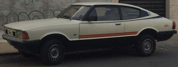 Auto Ford Taunus SP5