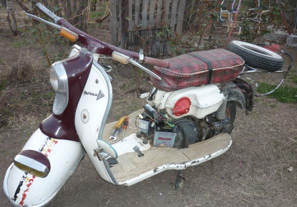 Motorcycle NSU 1960