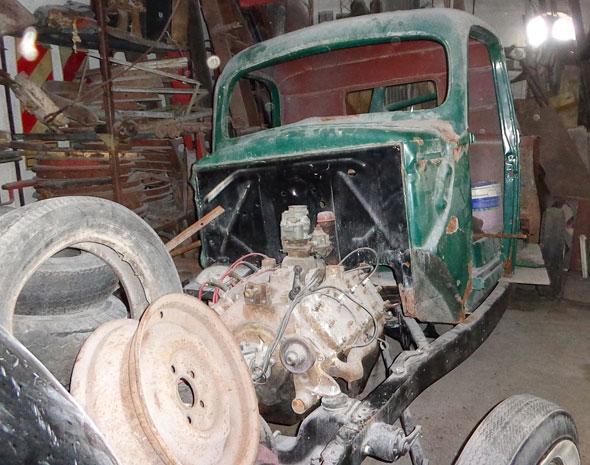 Auto Ford 1940 Chata