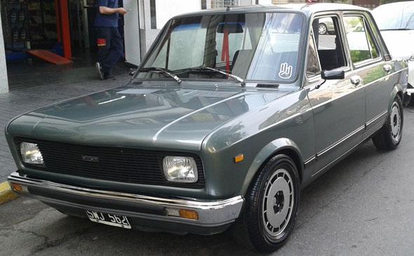 Car Fiat 128 Europa CL5