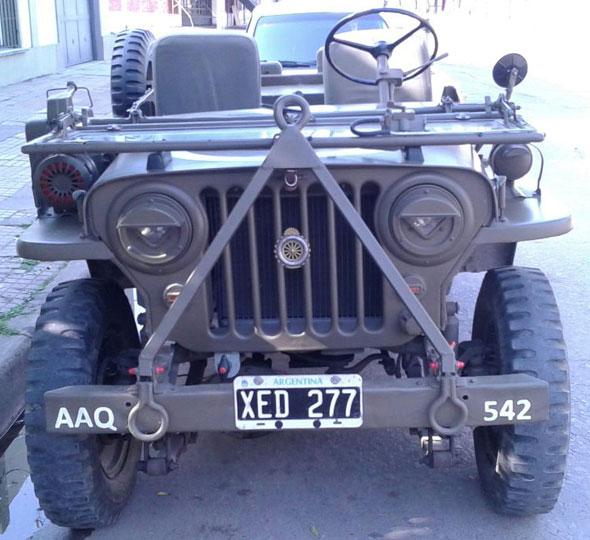 Auto Willys 1947