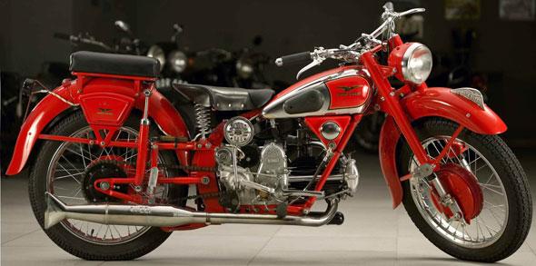 Motorcycle Guzzi 500 Falcone