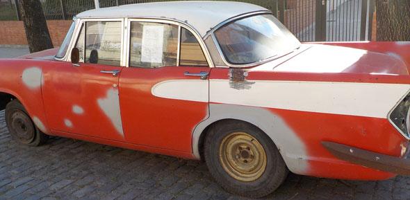 Auto Simca V8 Vedette 1959