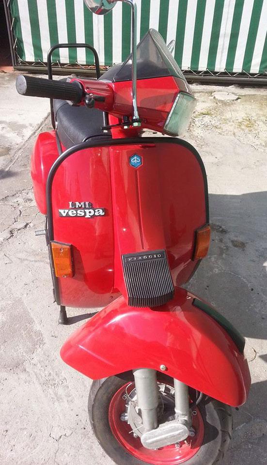 Moto Vespa T5