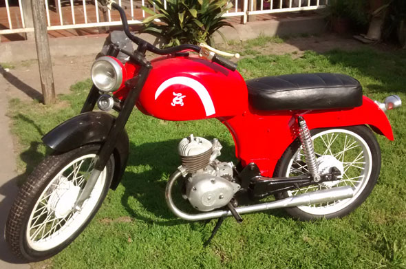 Motorcycle Paperino Super