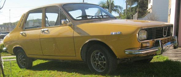 Car Renault 12 1973