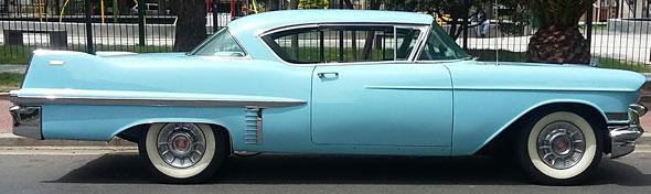 Car Cadillac 1957 Coupé De Ville