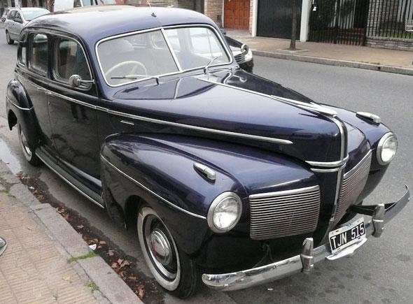 Car Ford Mercury