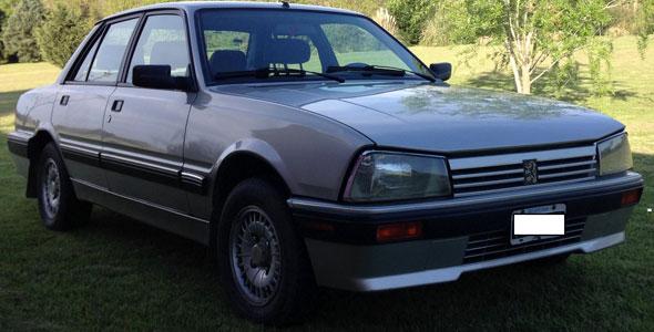 Auto Peugeot 505 SR