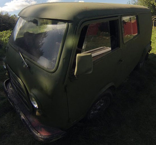 Auto Autoar Panoramic 1960