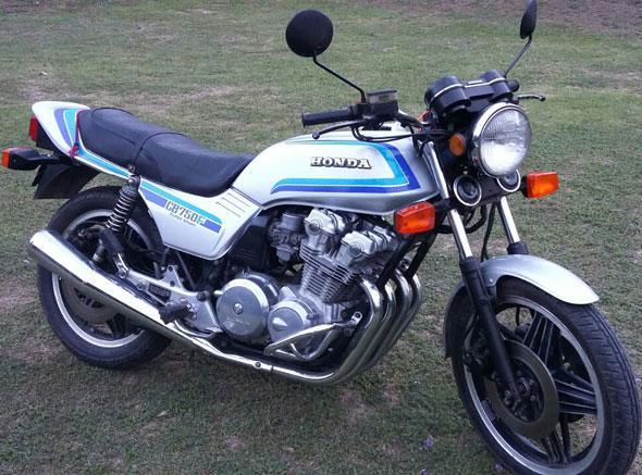 Motorcycle Honda CB 750 F