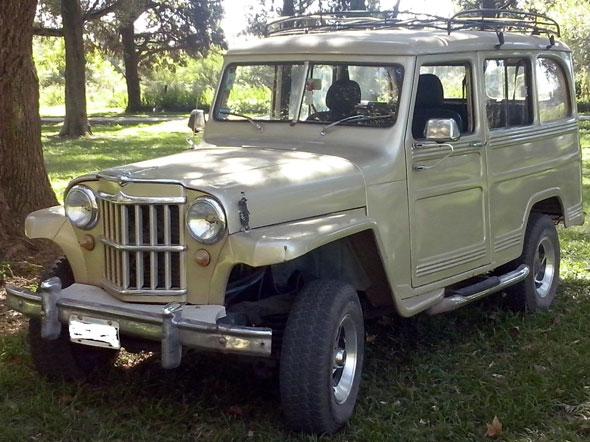 Auto IKA Estanciera 1963