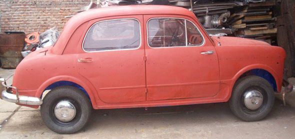 Auto Fiat 1100 1954