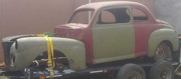 Auto Ford 1941 Coupé