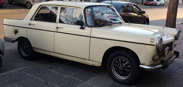 Auto Peugeot 1969