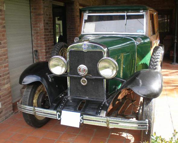 Auto Chevrolet 1929 Woody