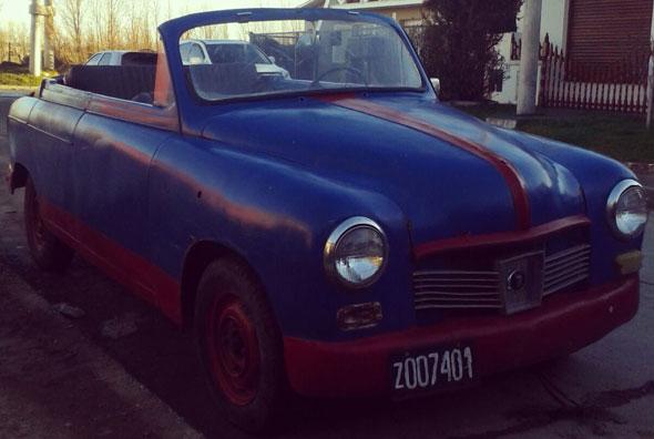 Car Fiat 1400B
