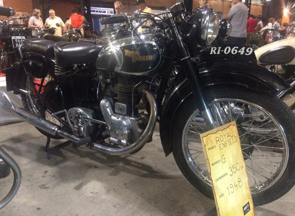 Moto Royal Enfield 350