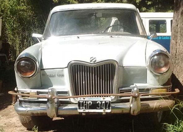 Car Siam Di Tella 1963