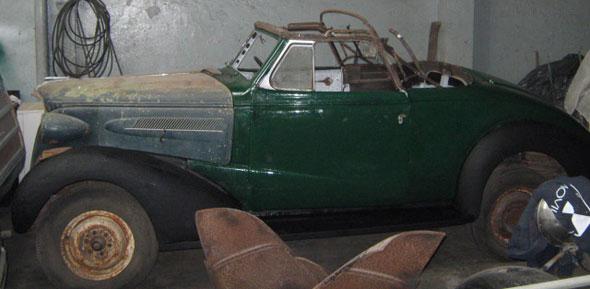 Car Chevrolet Cabriolet 1937