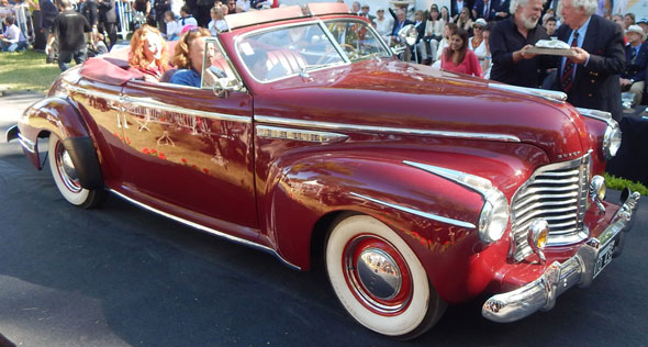 Auto Buick Coupé Convertible 1941