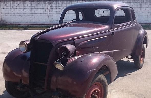 Car Chevrolet Coupé 1937