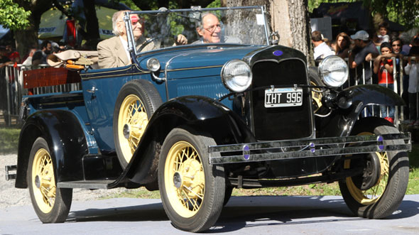 Auto Ford A Pick Up Roadster 1929