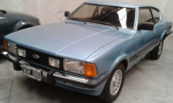 Car Ford Taunus Coupé