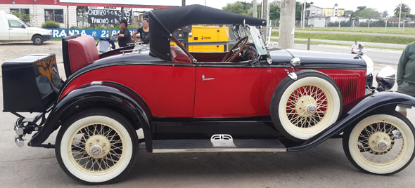 Car Willys Overland Whippet Roadster