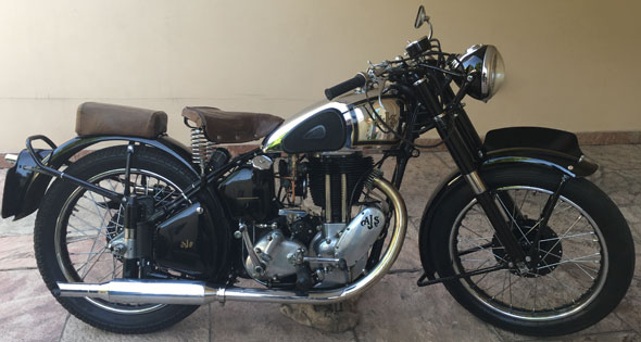 Motorcycle AJS 500 M18 1948