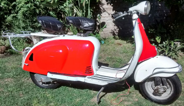 Motorcycle ISO Milano