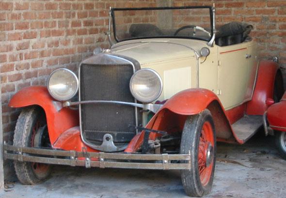 Car Graham Paige Convertible 1929
