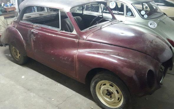Auto DKW Coupé 1958