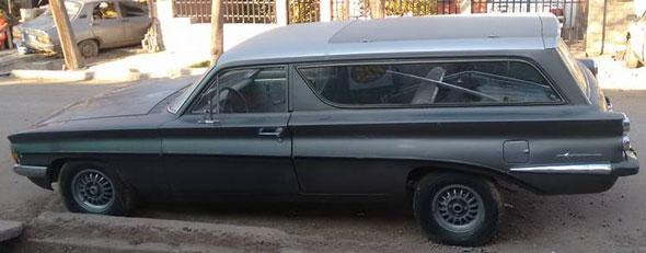 Car Oldsmobile 1961