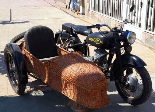 Motorcycle ISO 1952