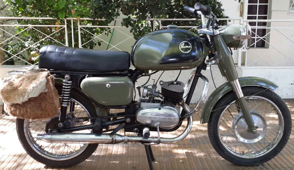 Motorcycle Puma 125 1962
