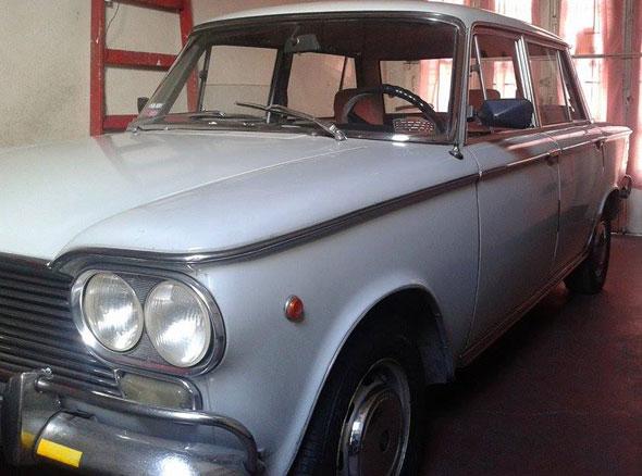 Car Fiat 1500 Berlina 1969