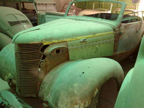 Auto Chevrolet 1938 Convertible
