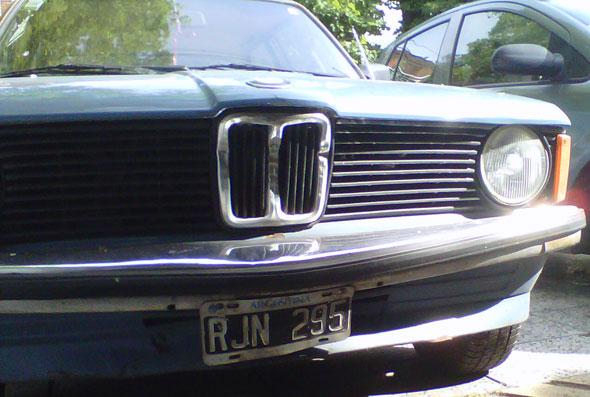 Car BMW 316 1981