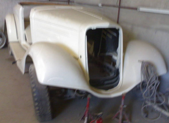 Auto Chevrolet 1934 Roadster
