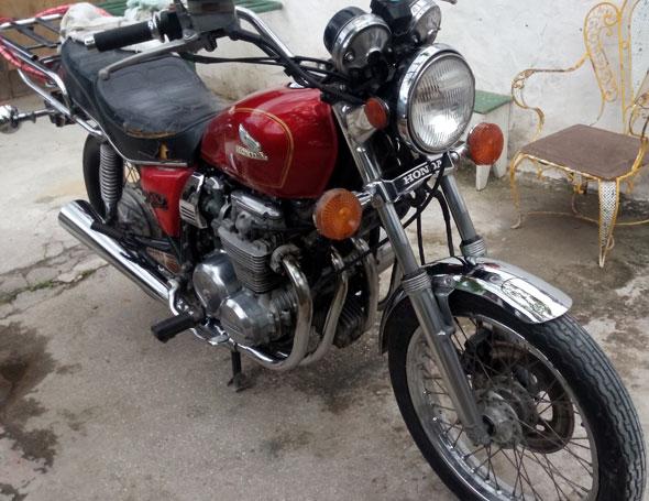 Motorcycle Honda CB 650 Custom