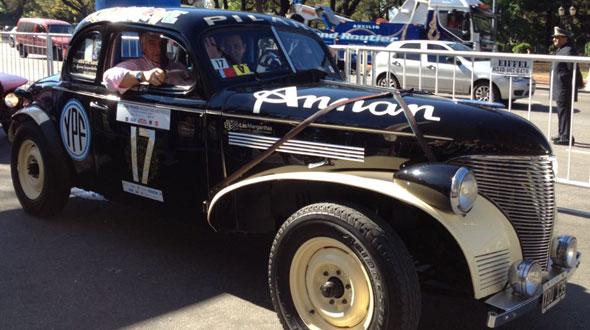 Auto Chevrolet Coupé 1938
