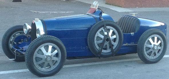 Car Bugatti 35 Type Réplica
