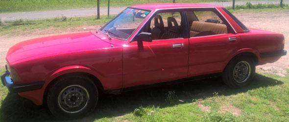 Car Ford Taunus 2.0 1981