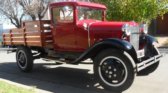 Auto Ford A Camión 1930