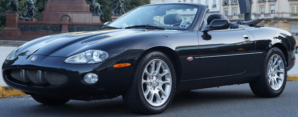 Car Jaguar XKR Superchaged