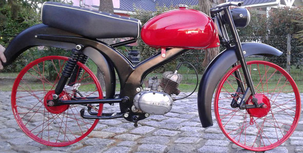 Motorcycle Alpino Roma 48