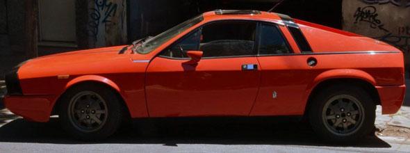 Car Lancia Montecarlo